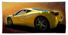 Ferrari 458 Italia Bath Towel