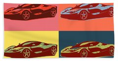 Ferrari Color Pop Bath Towel