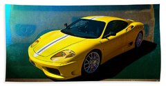 Ferrari F430 Bath Towel