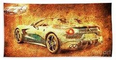 Ferrari F60 America 2 Hand Towel