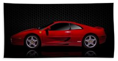 Ferrari Red - 355  F1 Berlinetto Hand Towel