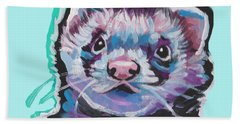 Ferret Fun Hand Towel