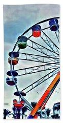 Ferris Wheel Hand Towel