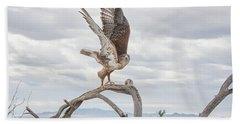 Ferruginous Hawk Hand Towel