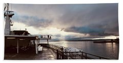 Ferry Morning Hand Towel
