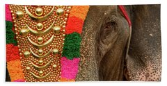 Festival Elephant Bath Towel