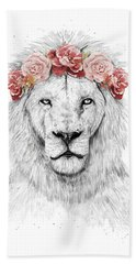 Festival Lion Bath Towel