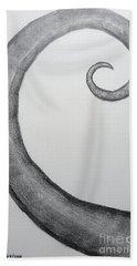Fibonacci Spiral No.1 Hand Towel