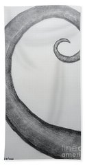 Fibonacci Spiral No.1 Bath Towel