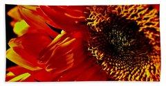Fickle Sunflower Hand Towel