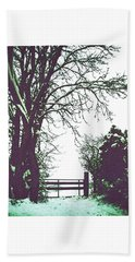 Field Gate Hand Towel by Anne Kotan