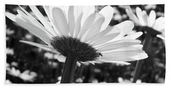 Field Of Daisies And The Little Ant Hand Towel