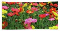 Field Of Poppies Bath Towel