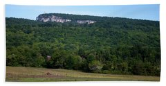 Field With A View Hand Towel by Jeff Severson