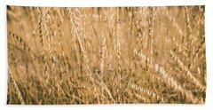 Hand Towel featuring the photograph Fields Of Gold by Allin Sorenson