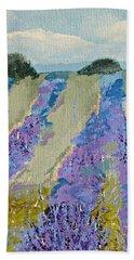 Fields Of Lavender Bath Towel