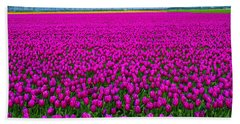 Fields Of Pink Hand Towel