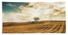 Fields Of Tasmanian Agriculture Hand Towel