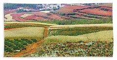 Fields Of The Redlands-1 Bath Towel