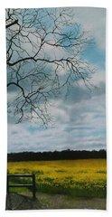 Fields Of Yellow Hand Towel