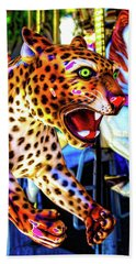 Fierce Cheetah Hand Towel