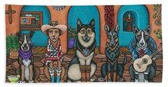 Fiesta Dogs Hand Towel