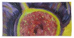 Figs  Hand Towel by Laurie Morgan