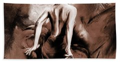 Figurative Art 007b Hand Towel