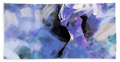 Bath Towel featuring the painting Figurative Dance Art 509w by Gull G