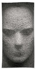 Figure In Stone Hand Towel