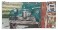 Fill 'er Up Hand Towel by Arlene Crafton