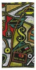 Finance And Medical Career Bath Towel