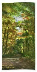 Find Your Own Voice Hand Towel