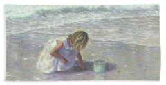 Finding Sea Glass Hand Towel