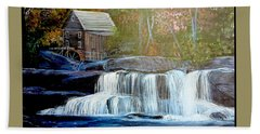 Finding The Living Waters Original Bath Towel by Kimberlee Baxter
