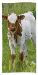 Fine Looking Longhorn Calf Bath Towel