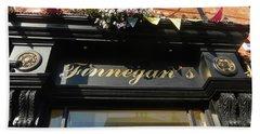 Finnegan's Sign/ Bono's Pub Hand Towel