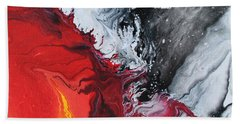 Fire And Ice Bath Towel