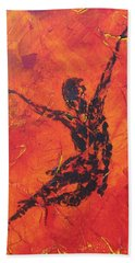 Fire Dancer Bath Towel