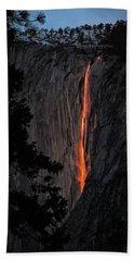 Fire Fall Bath Towel