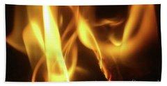 Fire  Feuer Bath Towel