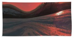 Fire Frost Bath Towel