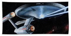 Fire Phasers Bath Towel