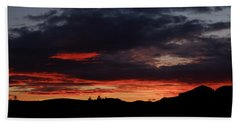 Fire Sky Bath Towel