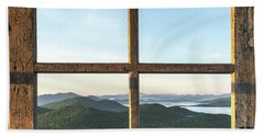 Fire Tower Frame Bath Towel
