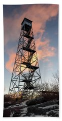 Fire Tower Sky Hand Towel