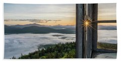 Fire Tower Sunburst Hand Towel