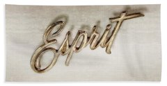 Firebird Esprit Chrome Emblem Hand Towel