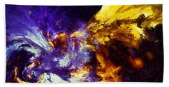 Firefly Abstract Bath Towel