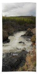 Firehole River Cascade Bath Towel